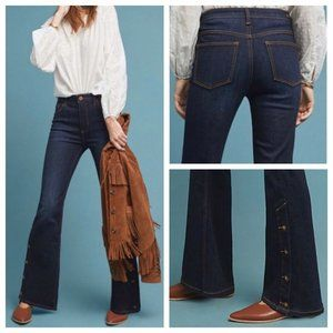 Pilcro Letterpress Anthropologie High Rise Bootcut